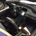 Porsche passenger-side interior